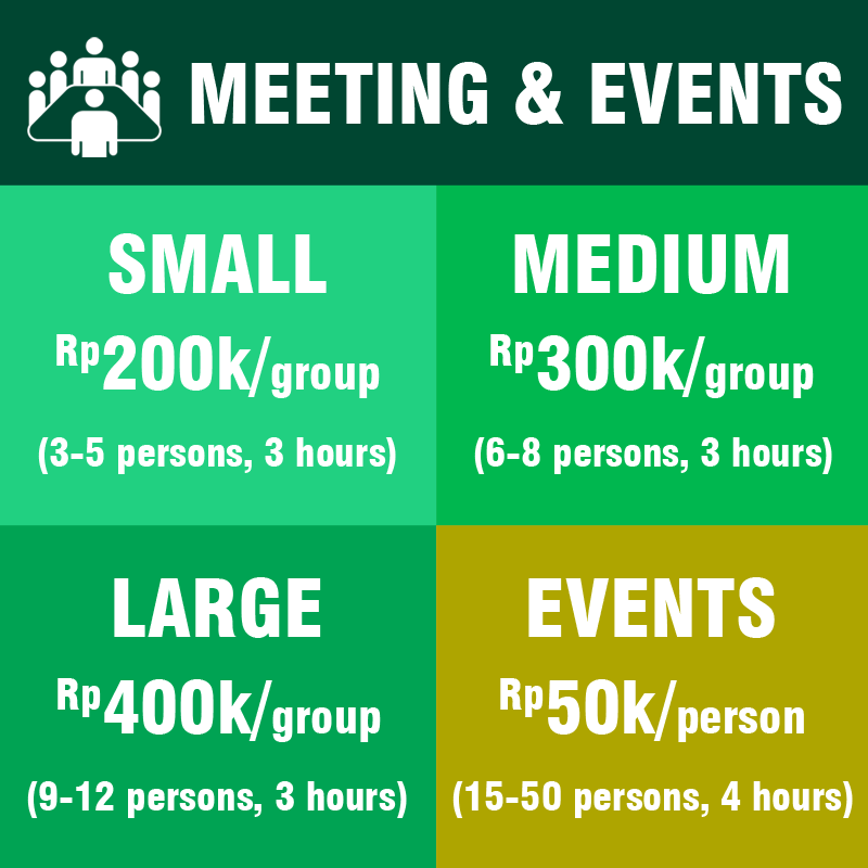 meeting & event pricing