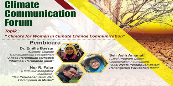 Climate for Women in Climate Change Communication (2018)